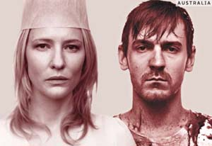 Cate Blanchett, Brandon Burke in <EM>The War of the Roses</EM>Photo courtesy of Perth International Arts Festival